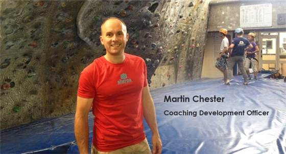 Martin Chester Coaching Officer