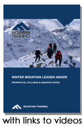Winter Mountain Leader Handbook with links to videos