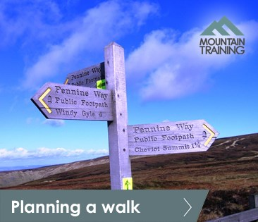 Planning a walk e-learning tile