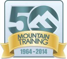Mountain Training`s 50th Anniversary Logo
